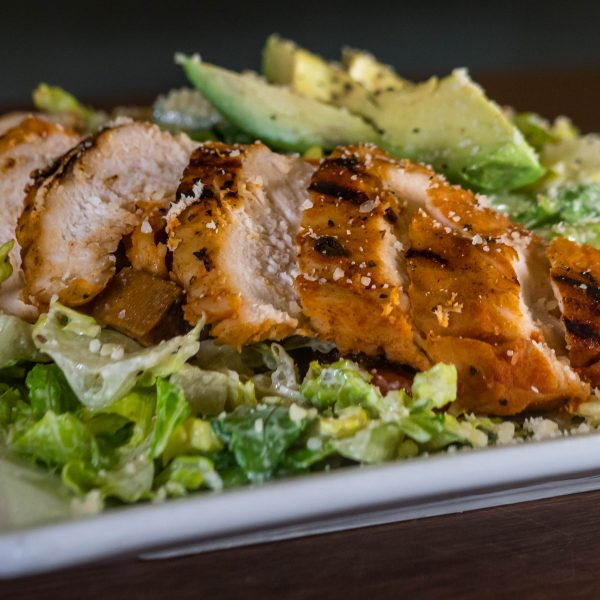 Avocado Chicken Ceasar Salad