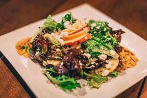 Apple & Goat Cheese Salad